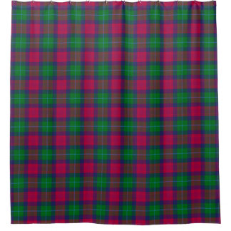 Akins Tartan Shower Curtain
