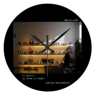 Akira Matsumura firenze galleriafirenzeitaly Large Clock