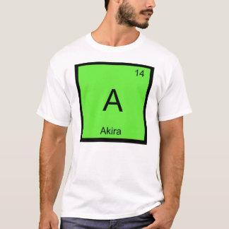 Akira Name Chemistry Element Periodic Table T-Shirt