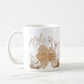 AKR Logo - Gold - Coffee & Kees Fur Coffee Mug