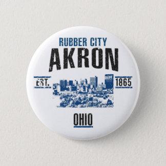 Akron 6 Cm Round Badge
