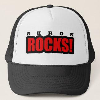 Akron, Alabama City Design Trucker Hat