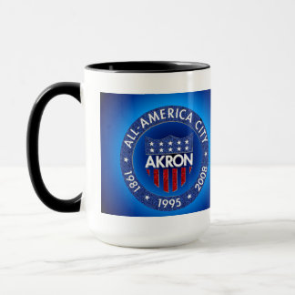 Akron All America City Mug. Mug