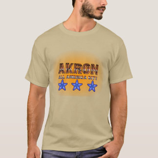 Akron All America City Shirt. T-Shirt