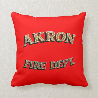Akron Fire Department Cushion