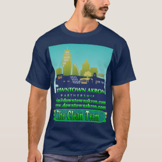 Akron Ohio Clean Team Shirt. T-Shirt