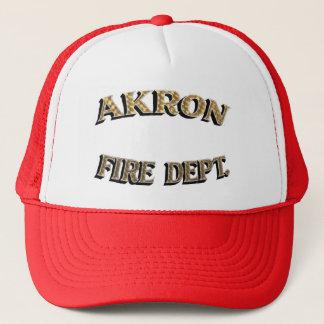 Akron Ohio  Fire Department Hat. Trucker Hat