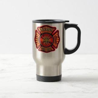 Akron Ohio Fire Department Mug. Travel Mug