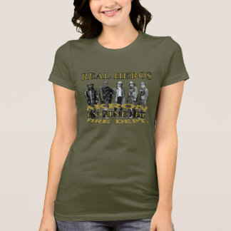 Akron Ohio Fire Department T Shirt. T-Shirt