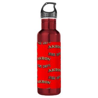 Akron Ohio Fire Department Water Bottle. 710 Ml Water Bottle