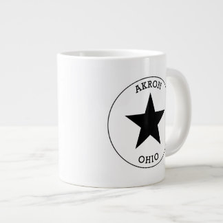 Akron Ohio Giant Coffee Mug