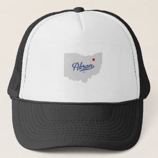 Akron Ohio OH Shirt Trucker Hat