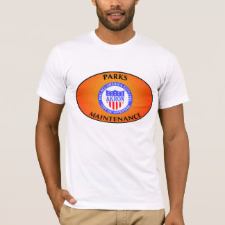 Akron  Ohio Parks Maintenance Shirt. T-Shirt