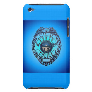 Akron Ohio Police Department Badge ipod. iPod Touch Case-Mate Case