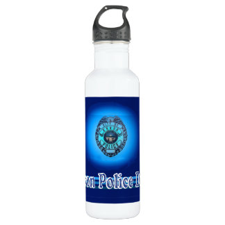 Akron Ohio Police Department Bottle. 710 Ml Water Bottle