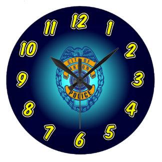 Akron Ohio Police Department Clock. Large Clock