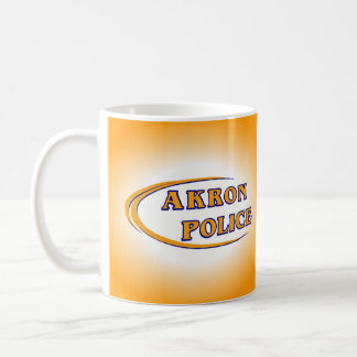 Akron Ohio Police Department Coffee Mug