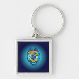 Akron Ohio Police Department Keychain. Key Ring
