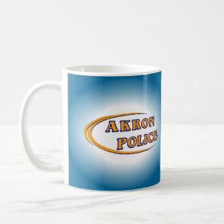 Akron Ohio Police Department Mug. Coffee Mug