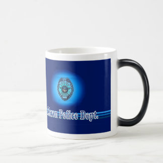 Akron Ohio Police Department Mug. Magic Mug