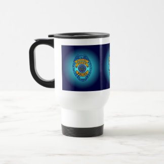 Akron Ohio Police Department Mug. Travel Mug