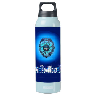 Akron Ohio Police Water Bottle. Insulated Water Bottle