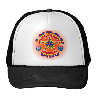 Akron Ohio Star Hat. Cap