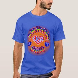 Akron Ohio Star T-Shirt
