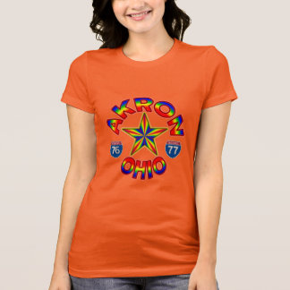 Akron Ohio Star T-Shirt