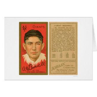 Al Bridwell Giants Baseball 1911 Card