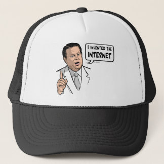 Al Gore, I invented the Internet Trucker Hat