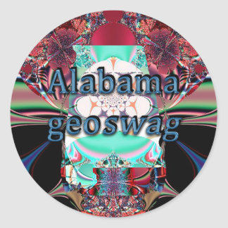 Alabama State Geocaching Supplies Stickers Geoswag