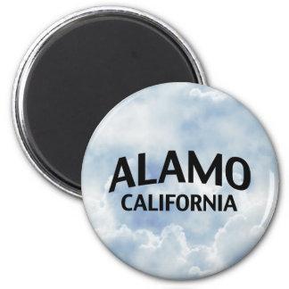 Alamo California 6 Cm Round Magnet
