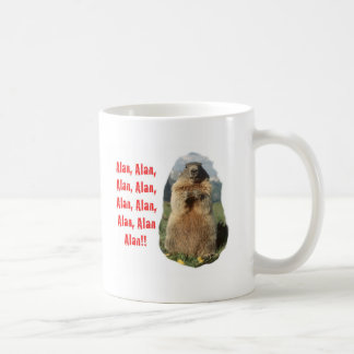 Alan Alan Alan Basic White Mug
