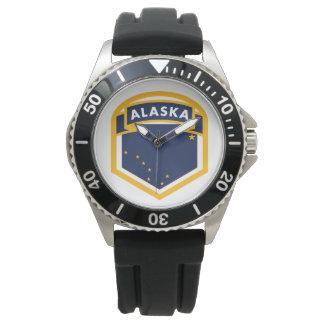 Alaska AK State Flag Logo Watch
