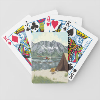 Alaska Bush Plane And Fishing Travel Bicycle Playing Cards
