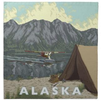 Alaska Bush Plane Souvenirs Napkin
