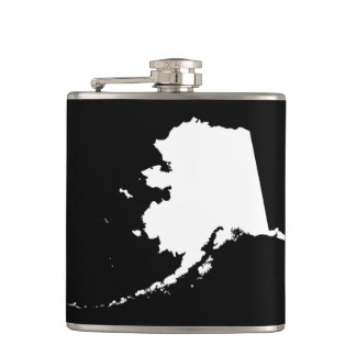 Alaska in Black and White Flasks