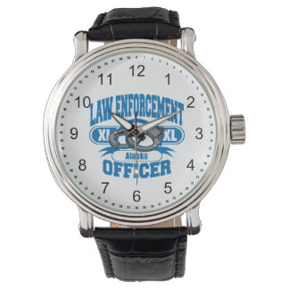 Alaska Law Enforcement Officer Handcuffs Watch