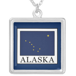 Alaska Silver Plated Necklace