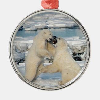 Alaskan Polar Bears Christmas Ornament