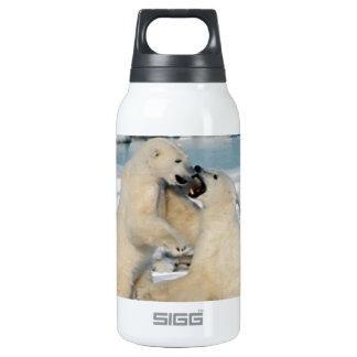 Alaskan Polar Bears Insulated Water Bottle