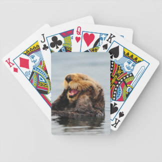 Alaskan Sea Otter Bicycle Playing Cards
