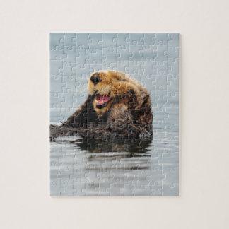 Alaskan Sea Otter Jigsaw Puzzle