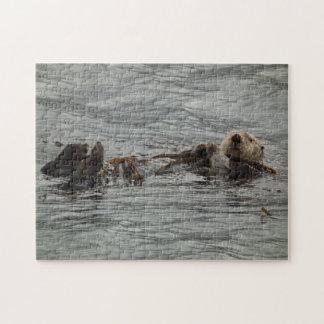 Alaskan Sea Otter Photo Jigsaw Puzzle
