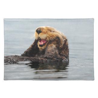 Alaskan Sea Otter Placemat