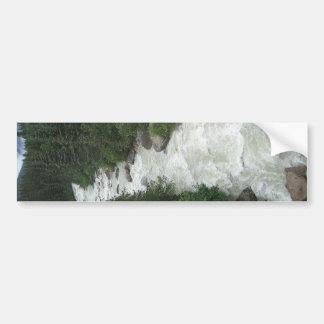 Alaskan Waterfall Bumper Sticker