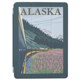 AlaskaRailroad and Fireweed Vintage Travel iPad Air Cover