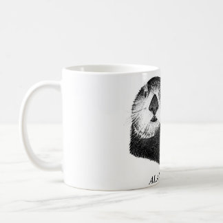 ALAXSXAQ - Coffee Mug - Sea Otter Graphic
