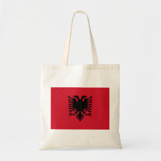 albania budget tote bag